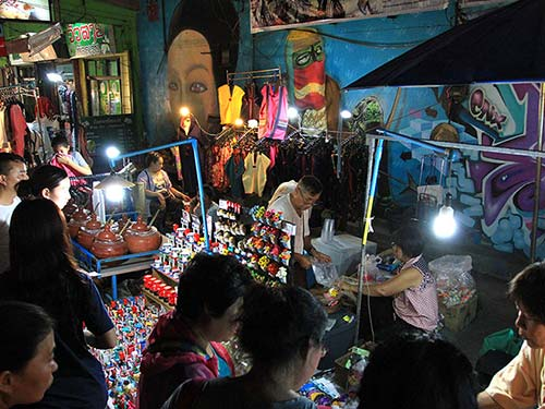 Night market, Chiang Mai.