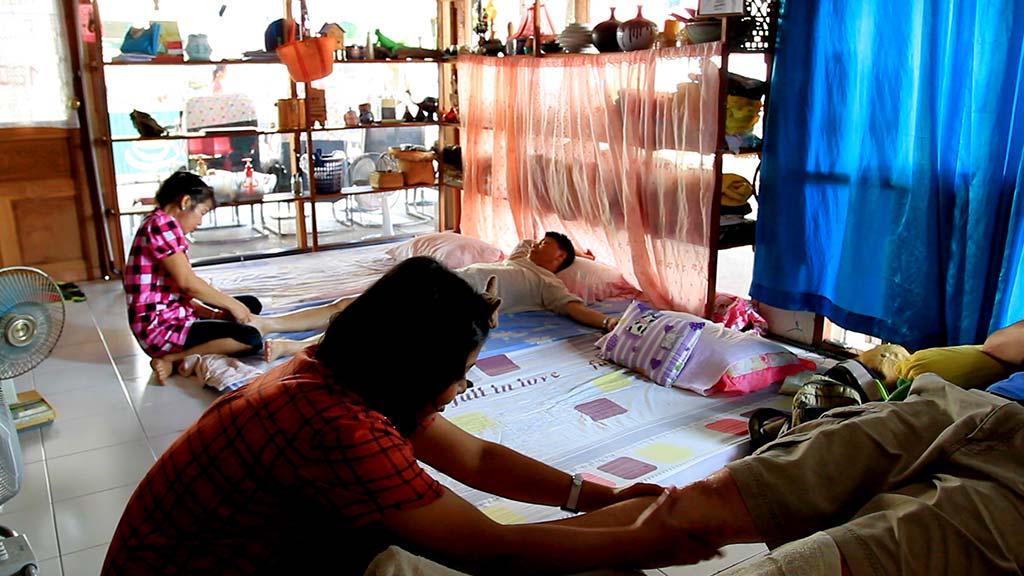 Thai Massages shop.
