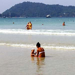 Beaches suitable for families