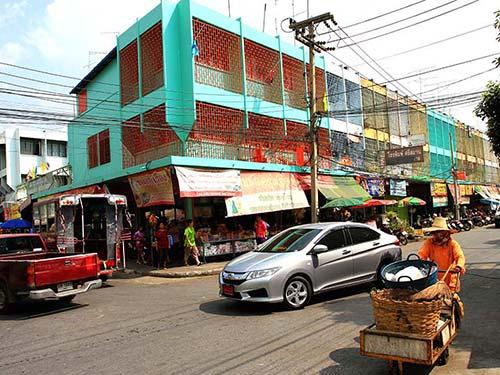 Lopburi downtown.