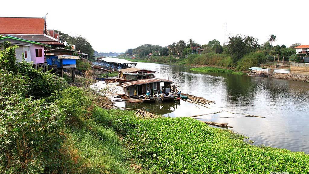 River in Lopburi.