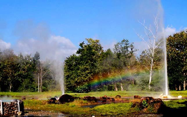 Sankhampaeng Hot Springs, Chiang Mai.