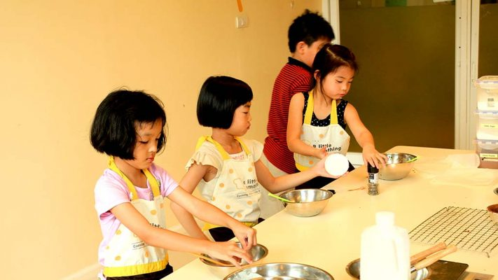 Cooking courses for families