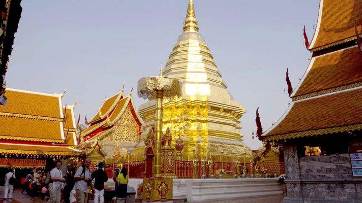 Wat Doi Shutep, Chiang Mai.