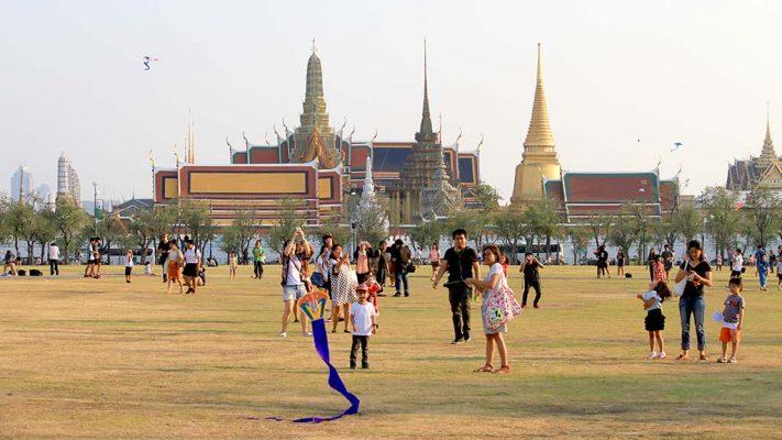 Esplanade Sanam Luang, Bangkok.